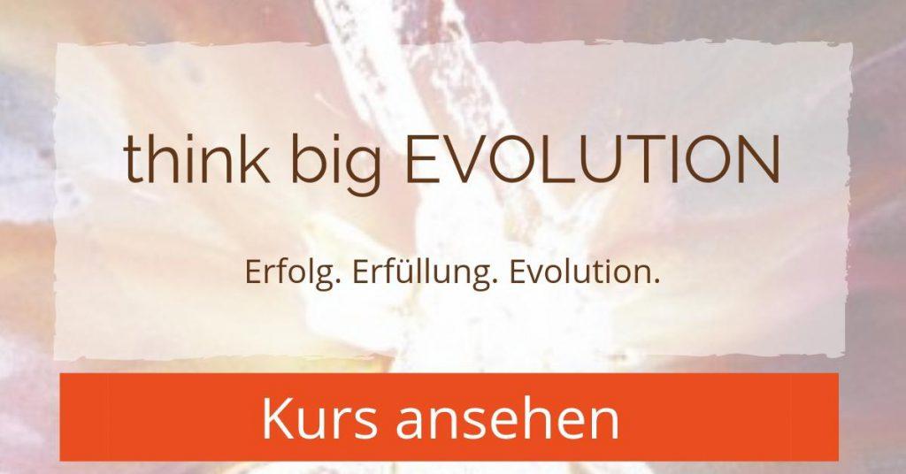 Think Big EVOLUTION - Erfolg. Erfüllung. Evolution - Kurs ansehen
