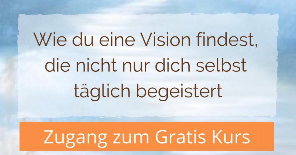 Finde deine Vision - Kurs buchen