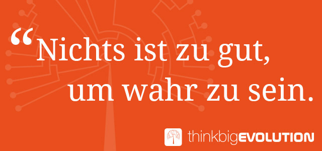 Think Big Evolution - Online Seminar von Veit Lindau