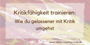 Kritikfähigkeit trainieren