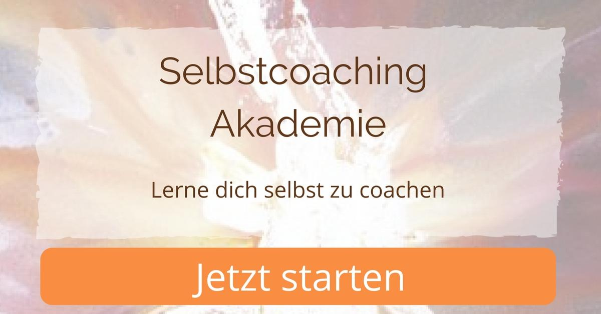 Selbstcoaching Akademie - Lerne dich selbst zu coachen